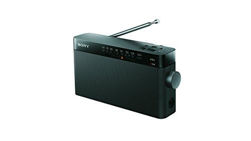 ソニー SONY ハンディーポータブルラジオ ICF-306 : FM/AM/ワイドFM対応 ブラック ICF-306 B