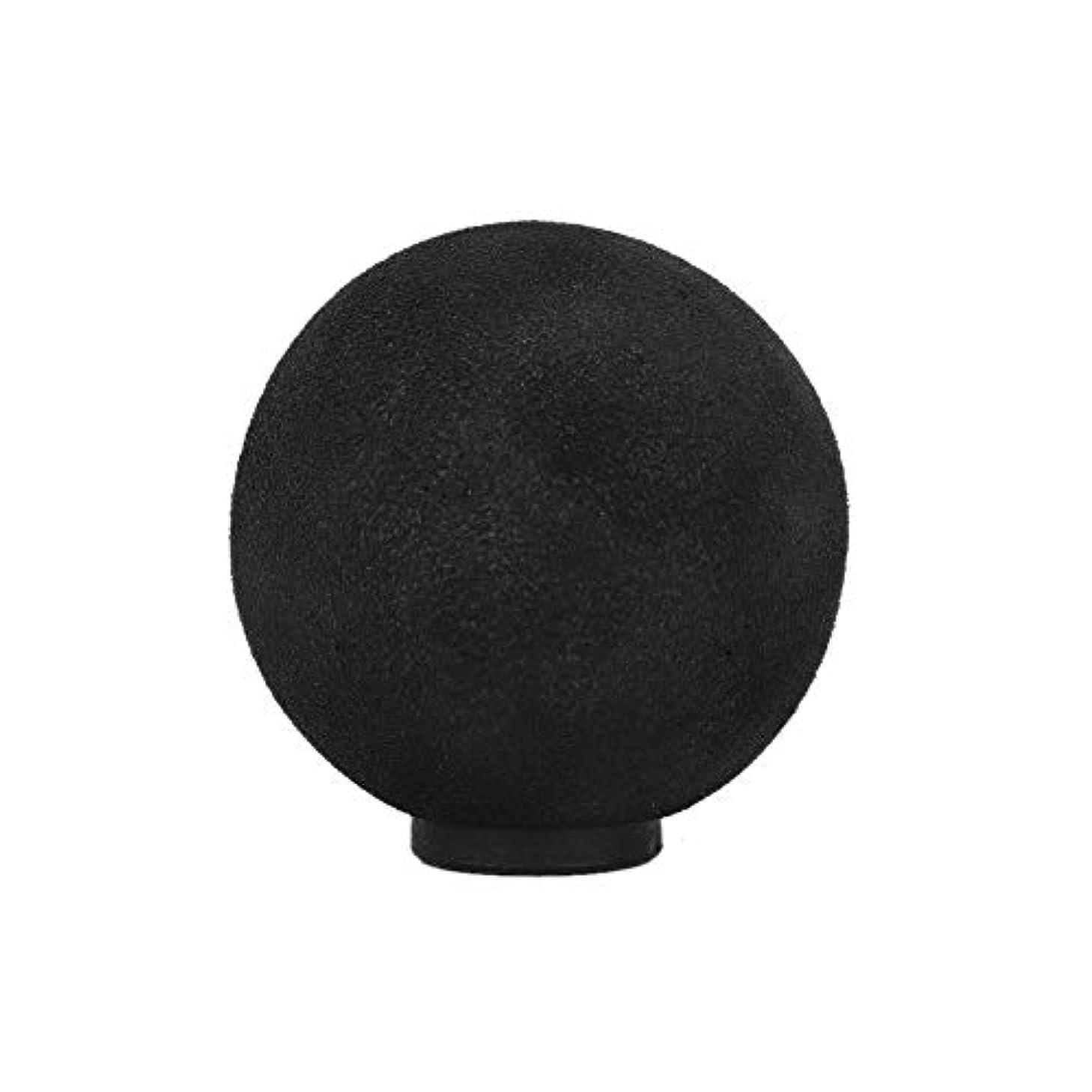 キャロラインキノコ問い合わせる交換可能なマッサージヘッド電動筋膜マッサージ器(#07 EVA Large Round Head?)