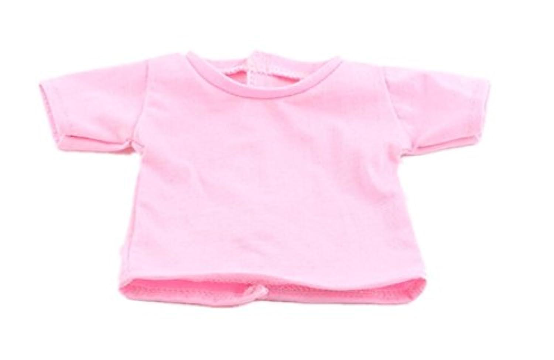 HuaQingPiJu-JP 18インチアメリカンガールドールTシャツ(ピンク)