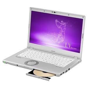 14.0型 ノートパソコン Let's note LVシリーズ シルバーLet's 2019年 夏モデル(Core i5/メモリ 8GB/SSD 256GB/Office H&B 2019) パナソニック(Panasonic) Panasonic CF-LV8KDGQR