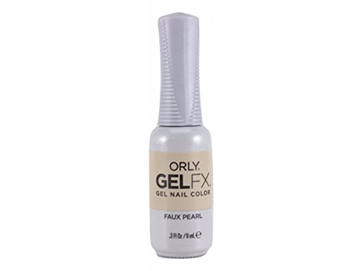 序文パトロール分析的Orly Gel FX - Darlings of Defiance Collection - Faux Pearl - 0.3 oz / 9 mL