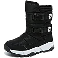 Snow Boots for Boys and Girls Winter Waterproof Warm Outdoor Shoes
