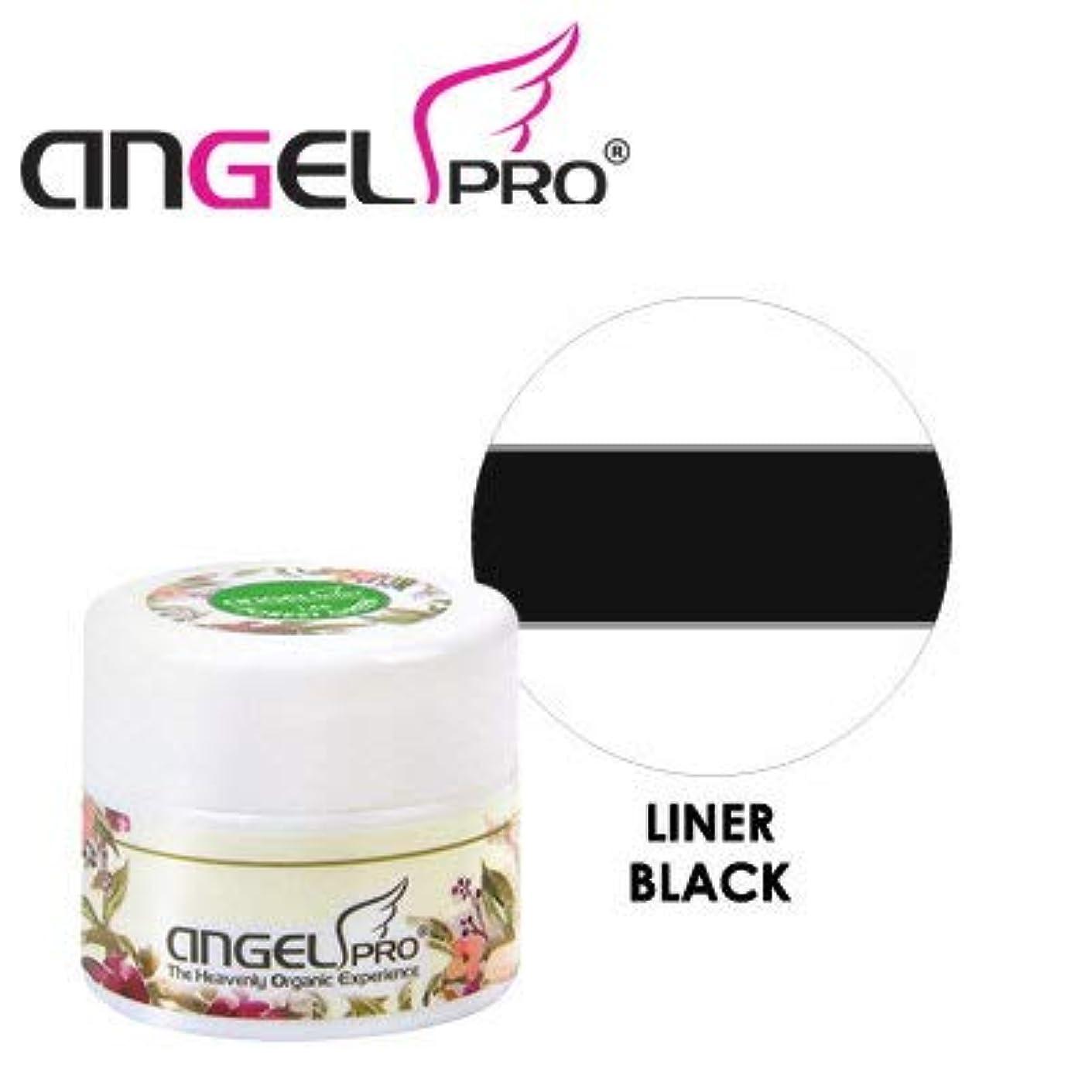 なだめるハウジング扇動するANGEL PRO ポットジェリー LINER BLACK 4g