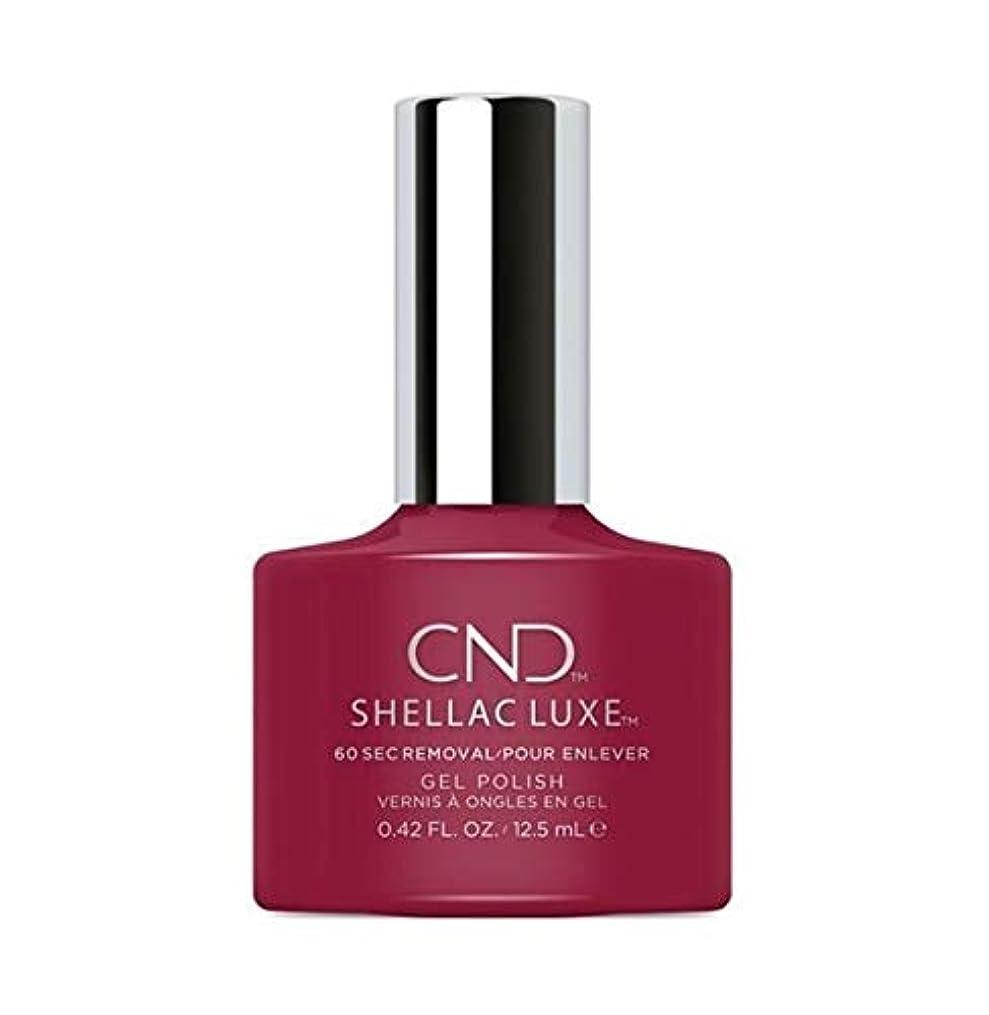 栄光ののために水星CND Shellac Luxe - Rouge Rite - 12.5 ml / 0.42 oz