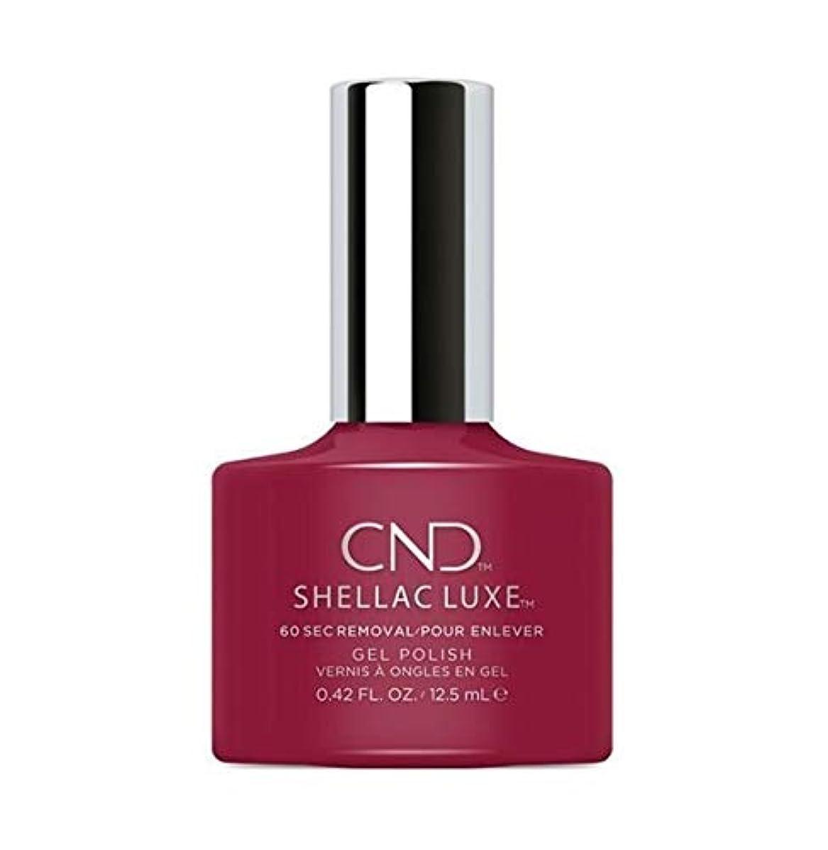 支店放つ必須CND Shellac Luxe - Rouge Rite - 12.5 ml / 0.42 oz