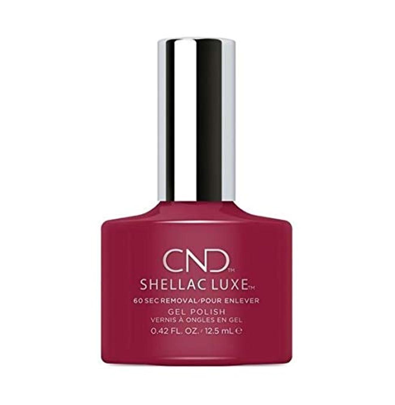 格差カバレッジ動物CND Shellac Luxe - Rouge Rite - 12.5 ml / 0.42 oz