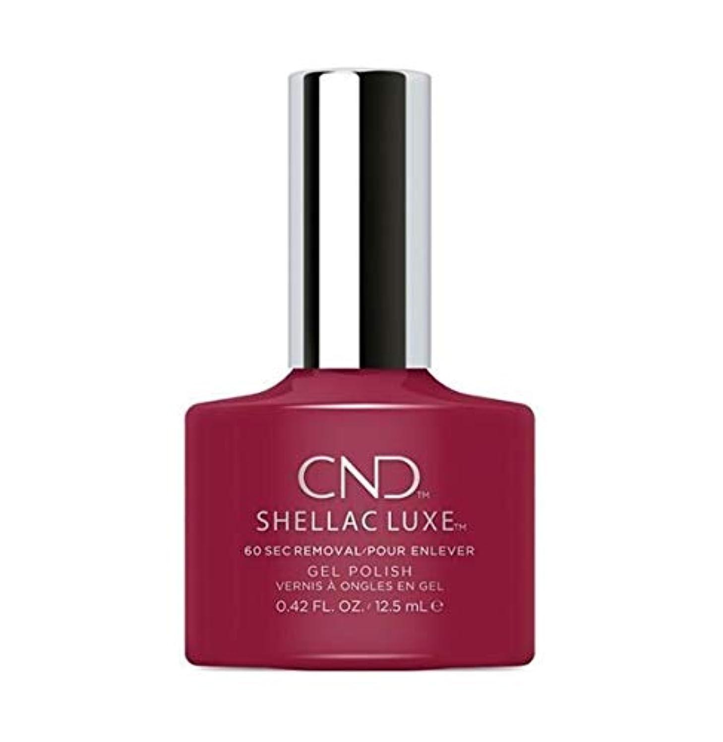 アクチュエータあまりにも通知CND Shellac Luxe - Rouge Rite - 12.5 ml / 0.42 oz