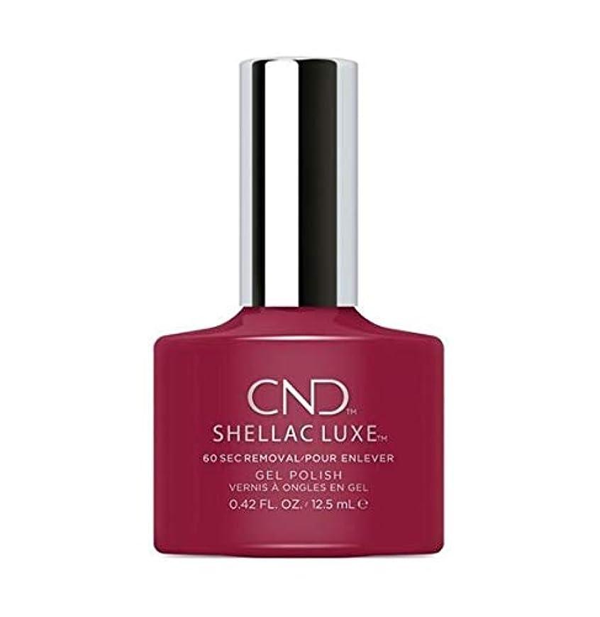 前提条件ブース人気のCND Shellac Luxe - Rouge Rite - 12.5 ml / 0.42 oz