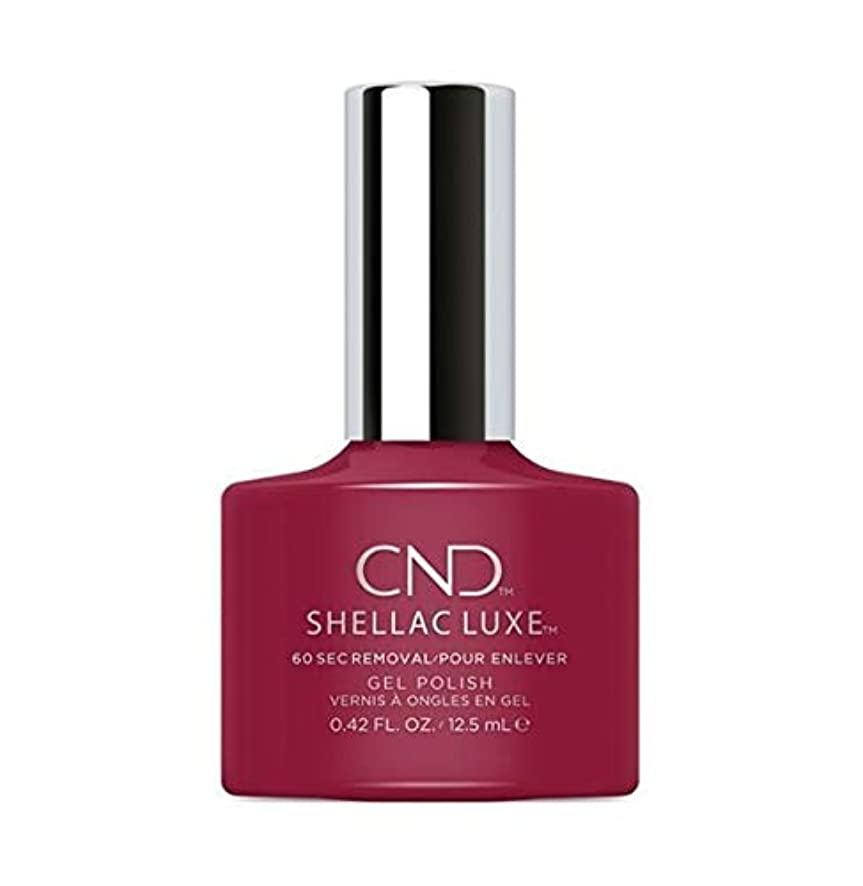 空港カード車両CND Shellac Luxe - Rouge Rite - 12.5 ml / 0.42 oz