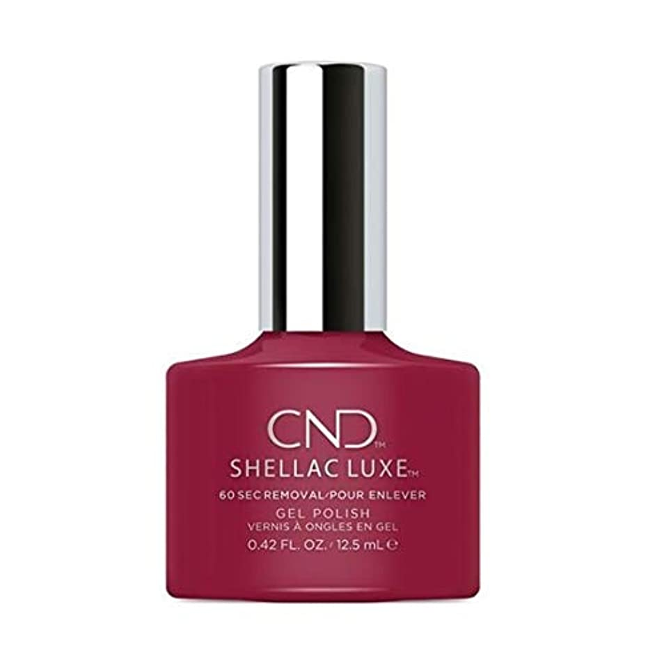 スラム嫌な少しCND Shellac Luxe - Rouge Rite - 12.5 ml / 0.42 oz