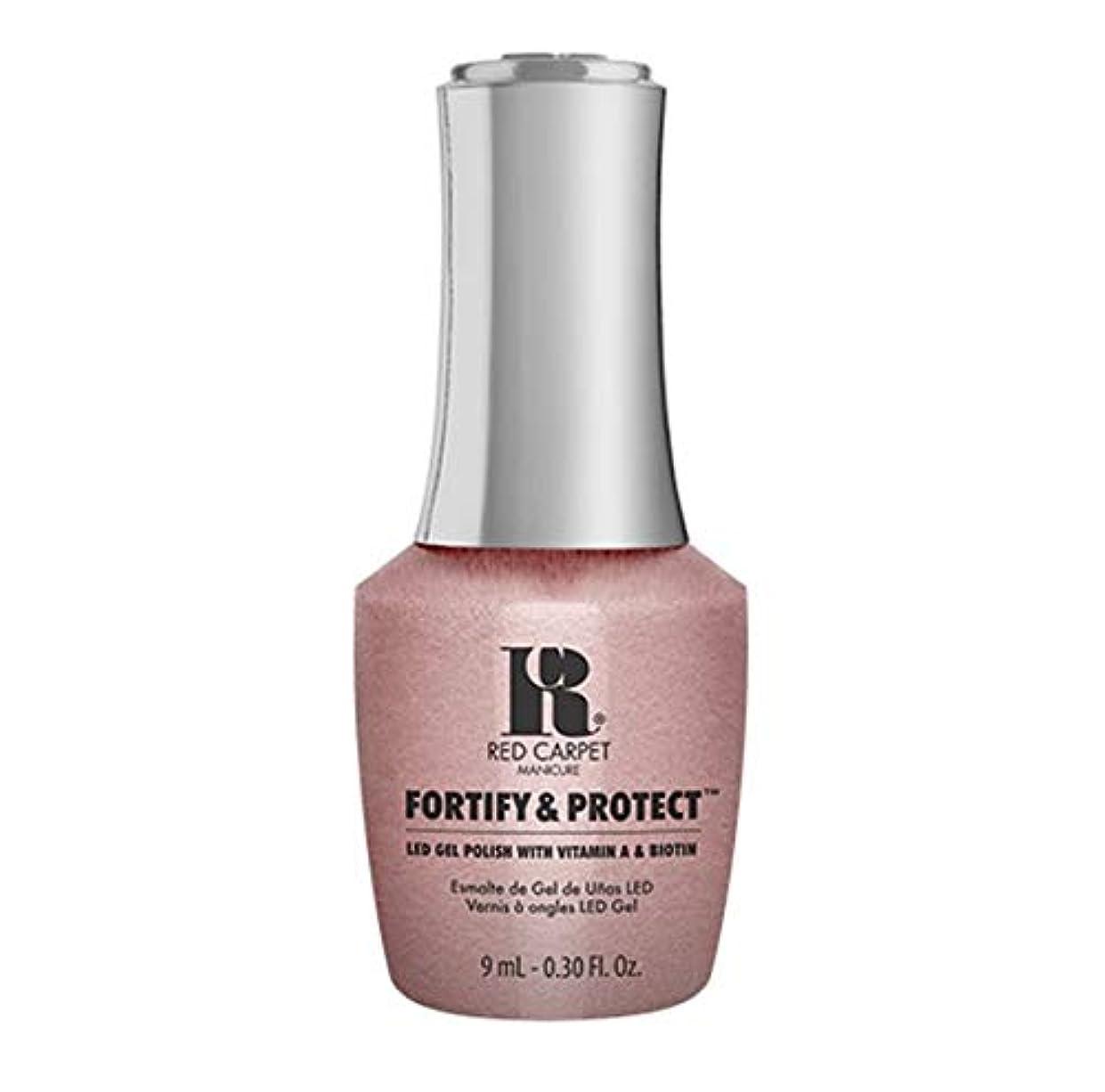 法令エスニック偏見Red Carpet Manicure - Fortify & Protect - Stunt Woman - 9ml / 0.30oz