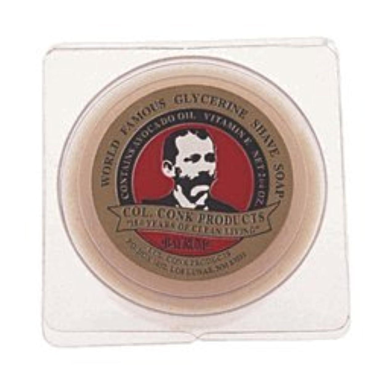 買収アウター悪化するColonel Conk Glycerin Shave Soap Bay Rum (106g) [並行輸入品]