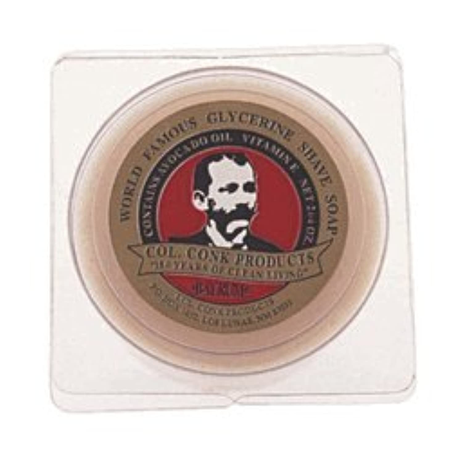 愛人欺く誰がColonel Conk Glycerin Shave Soap Bay Rum (106g) [並行輸入品]