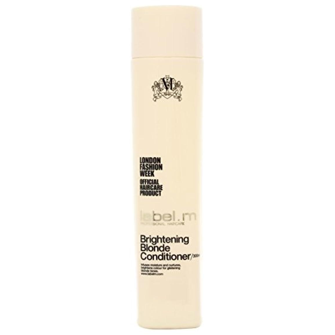 レーベルエム ブライトニングブロンド コンディショナー (髪に潤いと栄養を与えて明るく輝くブロンドヘアに) 300ml/10oz