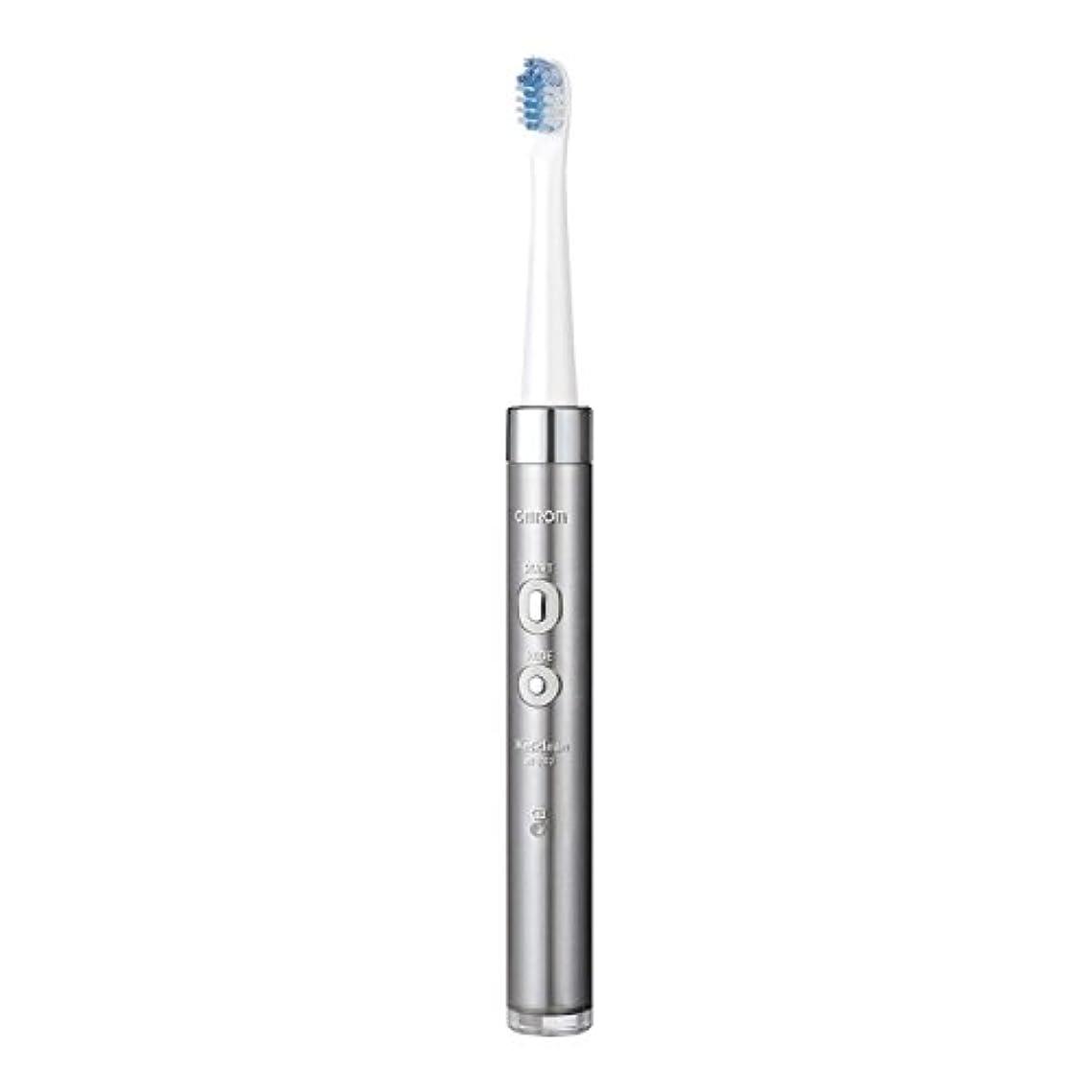 情熱含む欠席オムロンヘルスケア 音波式電動歯ブラシ HT-B312-SL シルバー