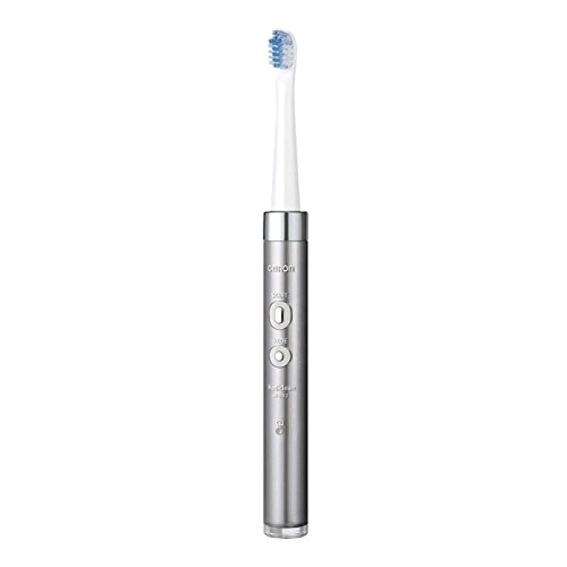 息子八百屋さんイチゴオムロンヘルスケア 音波式電動歯ブラシ HT-B312-SL シルバー