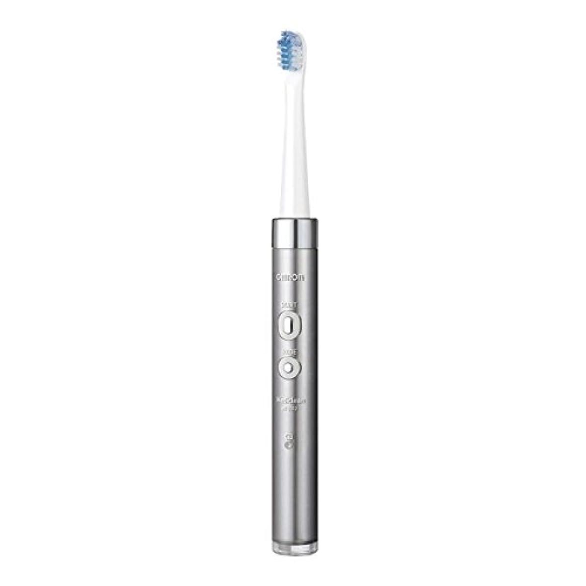 意図確執変装オムロンヘルスケア 音波式電動歯ブラシ HT-B312-SL シルバー