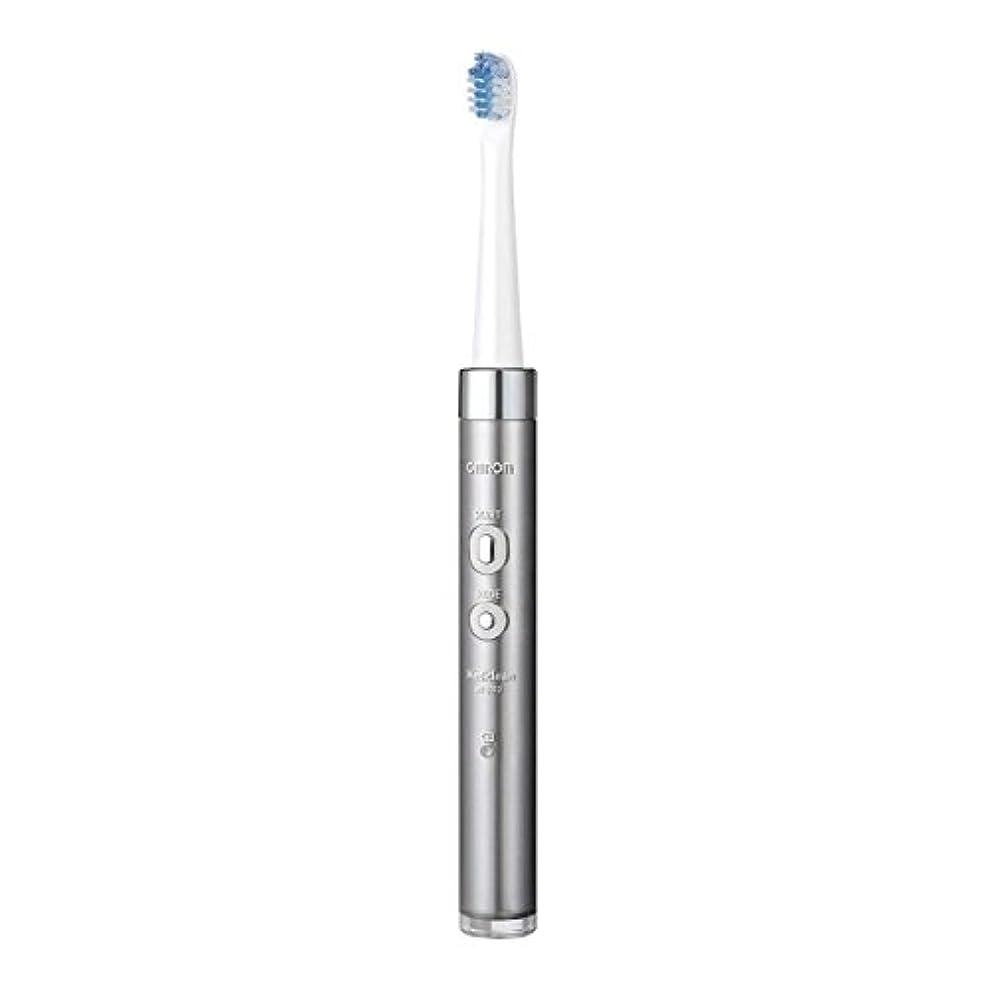 運命的な組組オムロンヘルスケア 音波式電動歯ブラシ HT-B312-SL シルバー