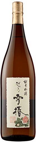 越乃雪椿 純米吟醸酒 瓶 1.8L