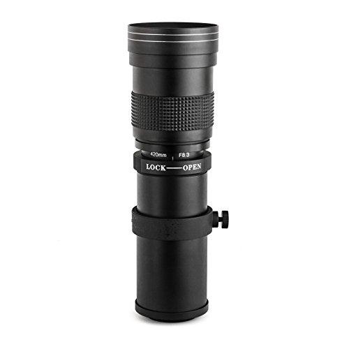 アプテカ (Opteka) 420〜800ミリメートルF /8.3 コンパクトミラーレスデジタルカメラ HD望遠ズームレンズ Nikon ニコン 1 J4, J3, J2, S2, S1, V3, V2, V1、 AW1 並行輸入