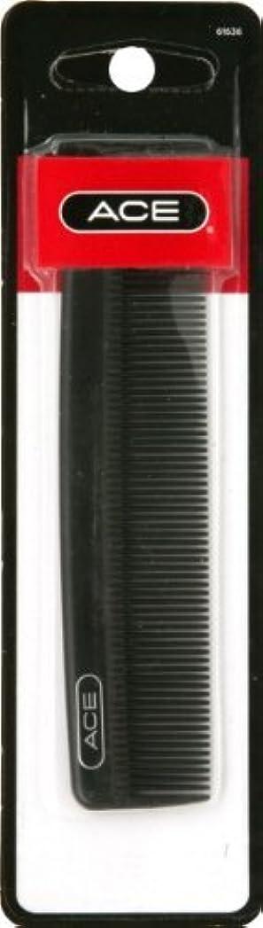 一月タバコ悪行Ace Classic Pocket Fine Tooth Hair Comb (Pack of 6) [並行輸入品]