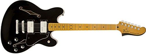 Fender フェンダー エレキギター FENDER STARCASTER MN BLK