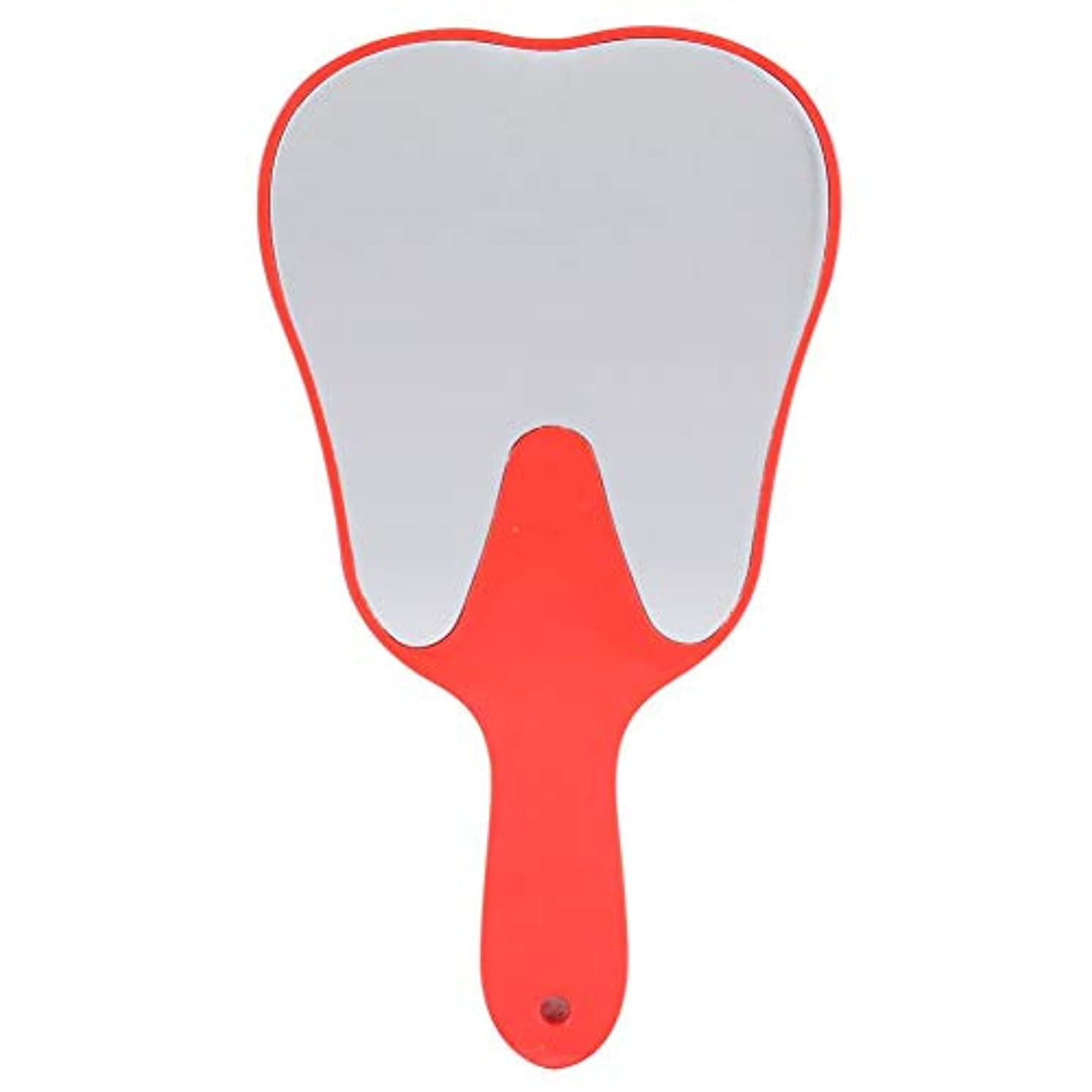 ゴルフメドレー草歯鏡 おしゃれな便利なかわいいプラスチックハンドル 歯科ケアハンドミラーツール (2#)