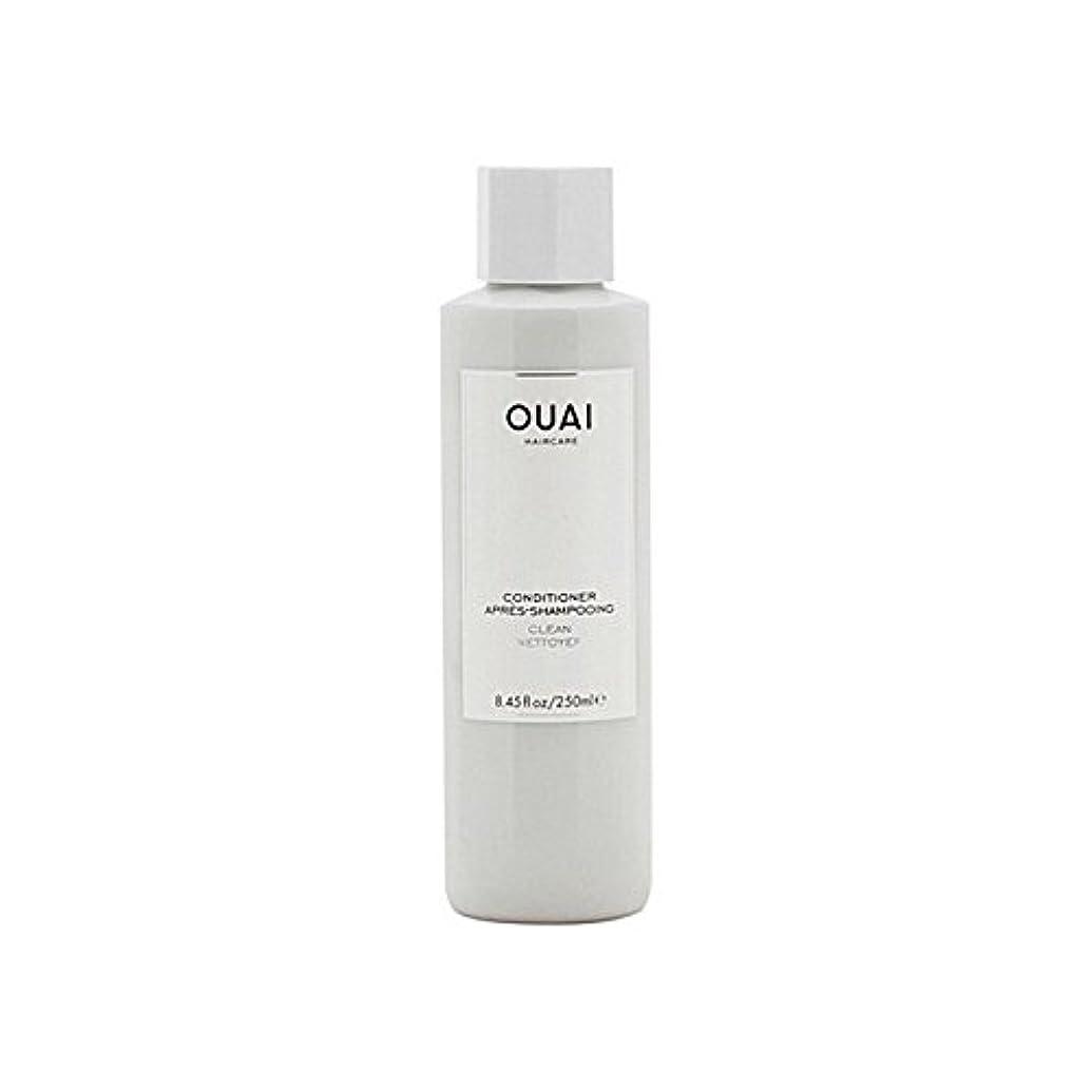 腰自分文明Ouai Clean Conditioner 300ml - クリーンコンディショナー300ミリリットル [並行輸入品]