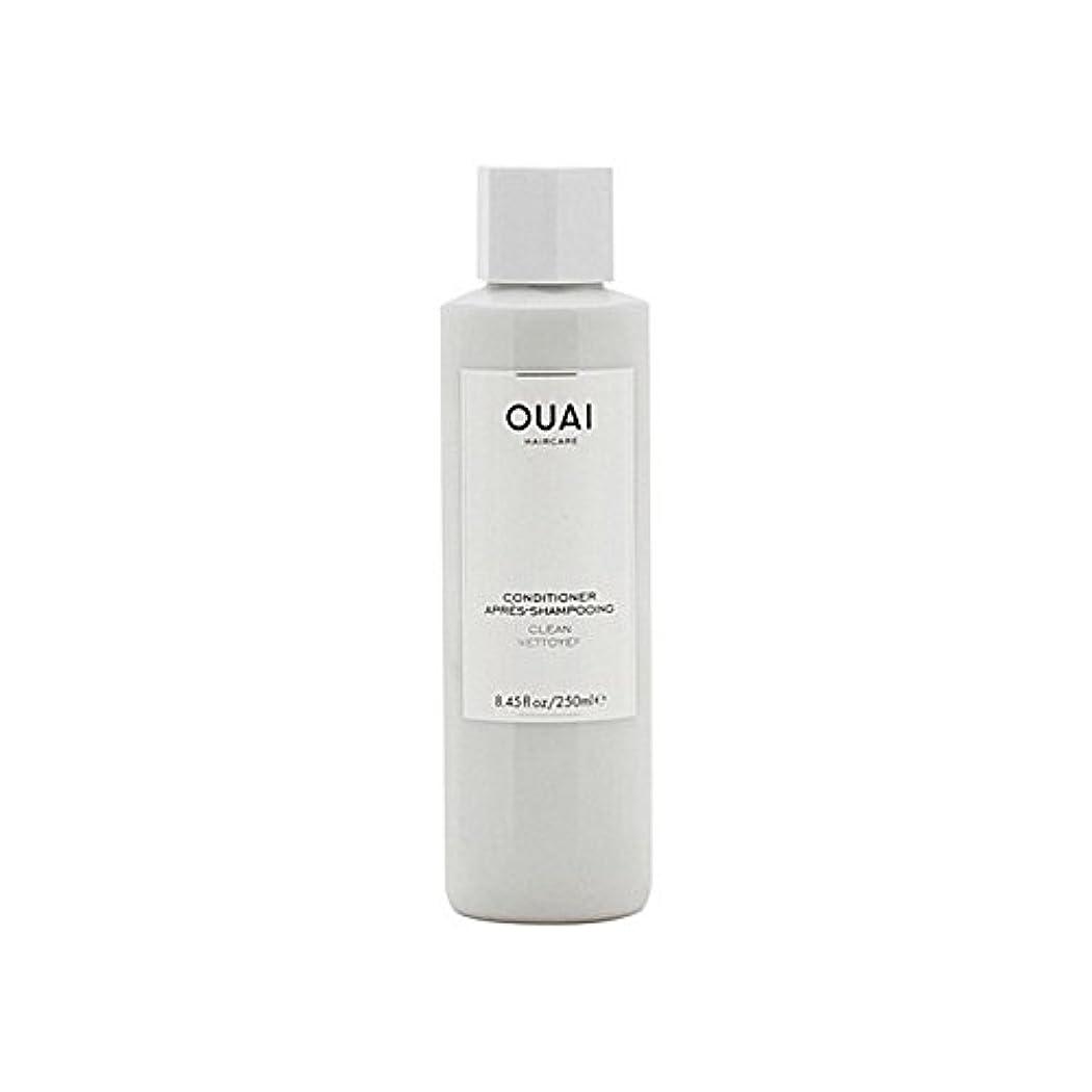 銀噴出する代替案Ouai Clean Conditioner 300ml - クリーンコンディショナー300ミリリットル [並行輸入品]