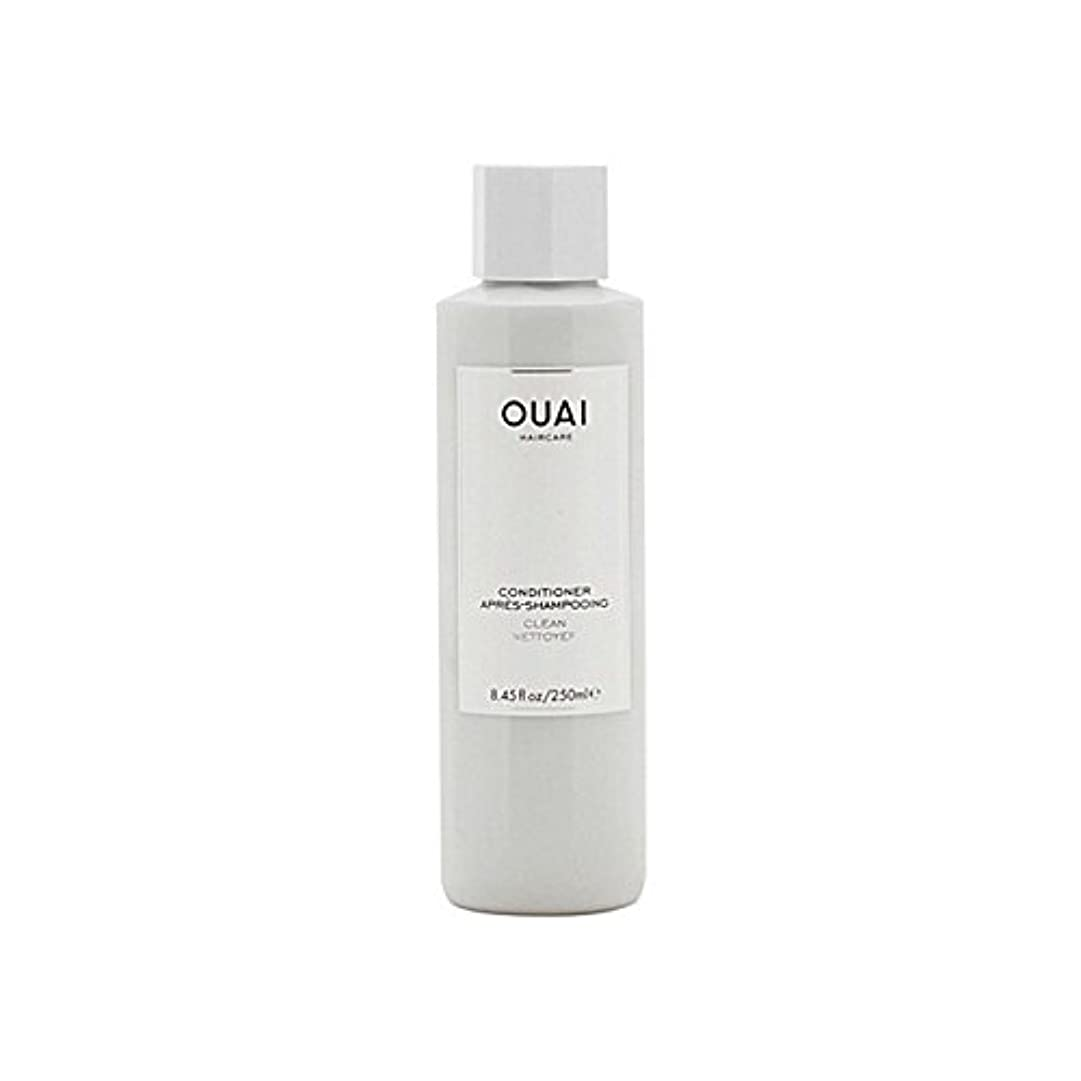 リラックス生き残りますバスルームOuai Clean Conditioner 300ml (Pack of 6) - クリーンコンディショナー300ミリリットル x6 [並行輸入品]