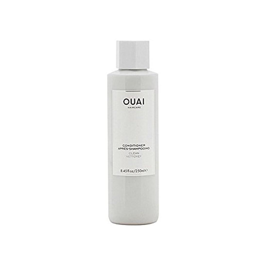 ウイルス危険を冒します起こるOuai Clean Conditioner 300ml (Pack of 6) - クリーンコンディショナー300ミリリットル x6 [並行輸入品]