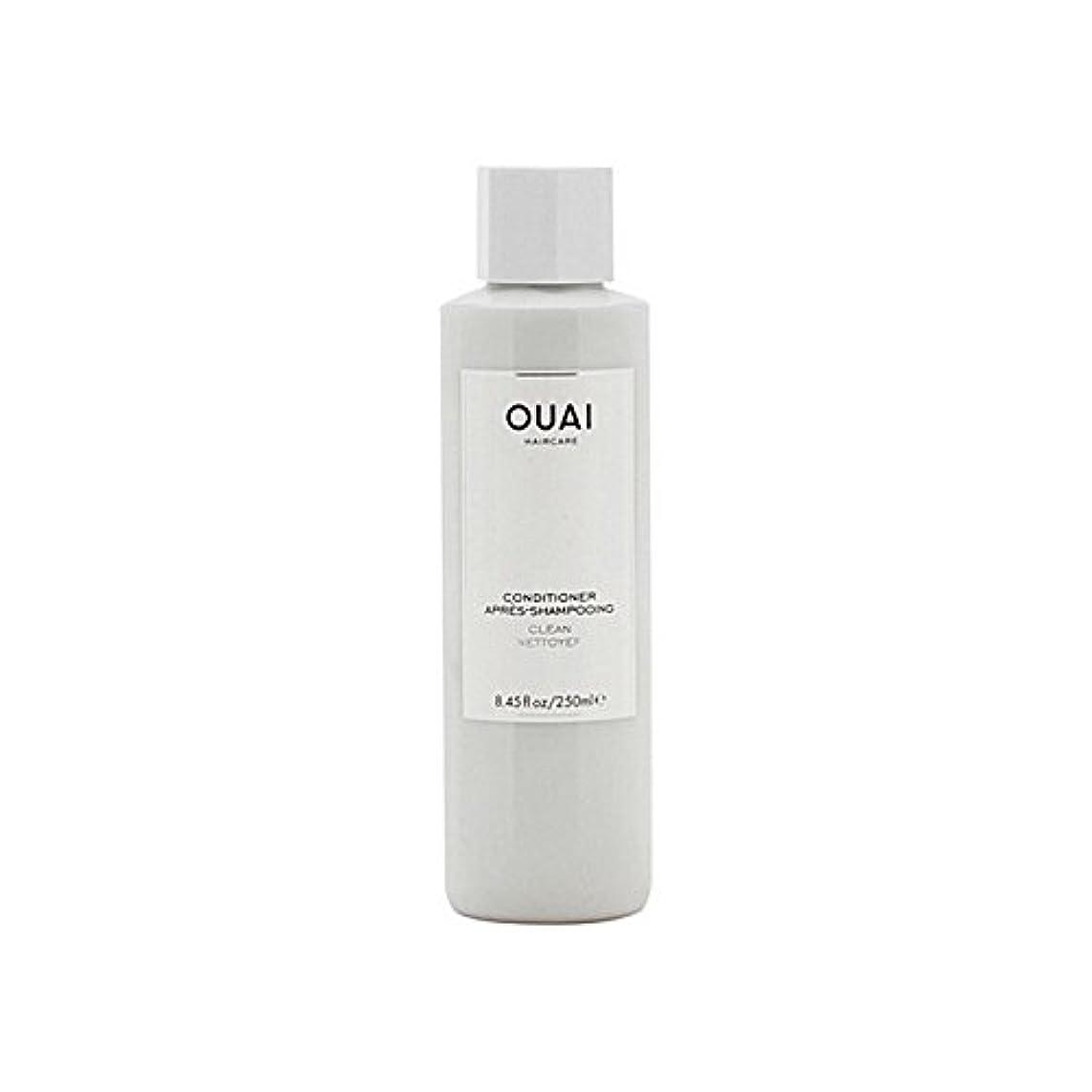 群れアクション樫の木Ouai Clean Conditioner 300ml (Pack of 6) - クリーンコンディショナー300ミリリットル x6 [並行輸入品]