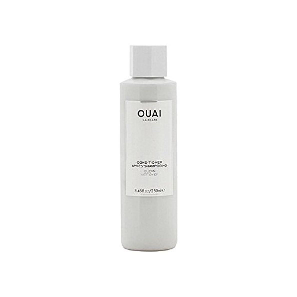 だらしない謝る誘惑するOuai Clean Conditioner 300ml - クリーンコンディショナー300ミリリットル [並行輸入品]