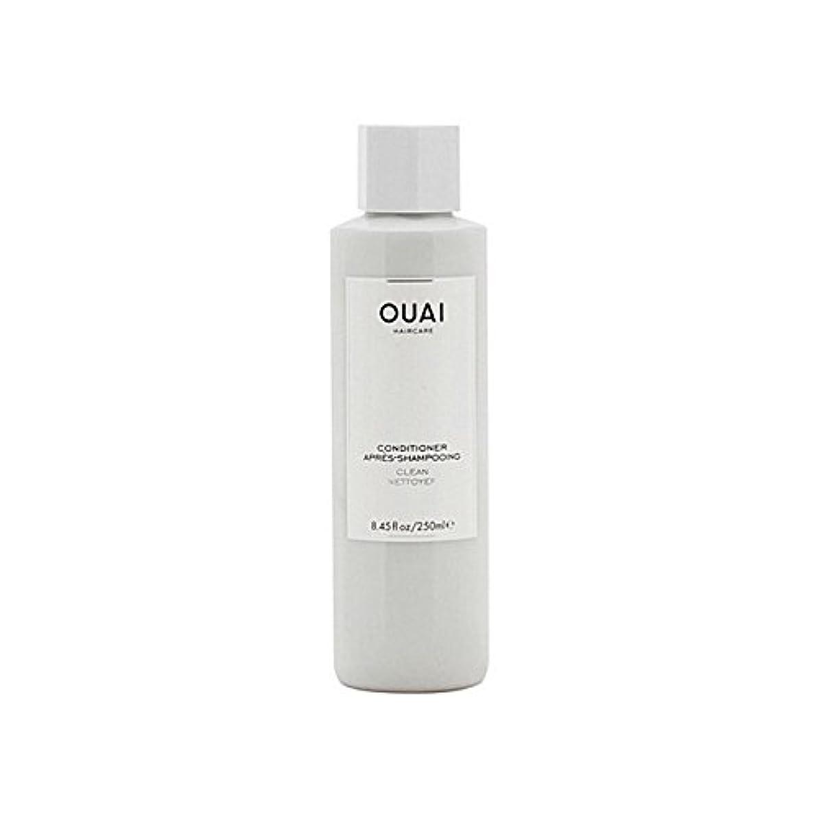 力論争誇張Ouai Clean Conditioner 300ml (Pack of 6) - クリーンコンディショナー300ミリリットル x6 [並行輸入品]