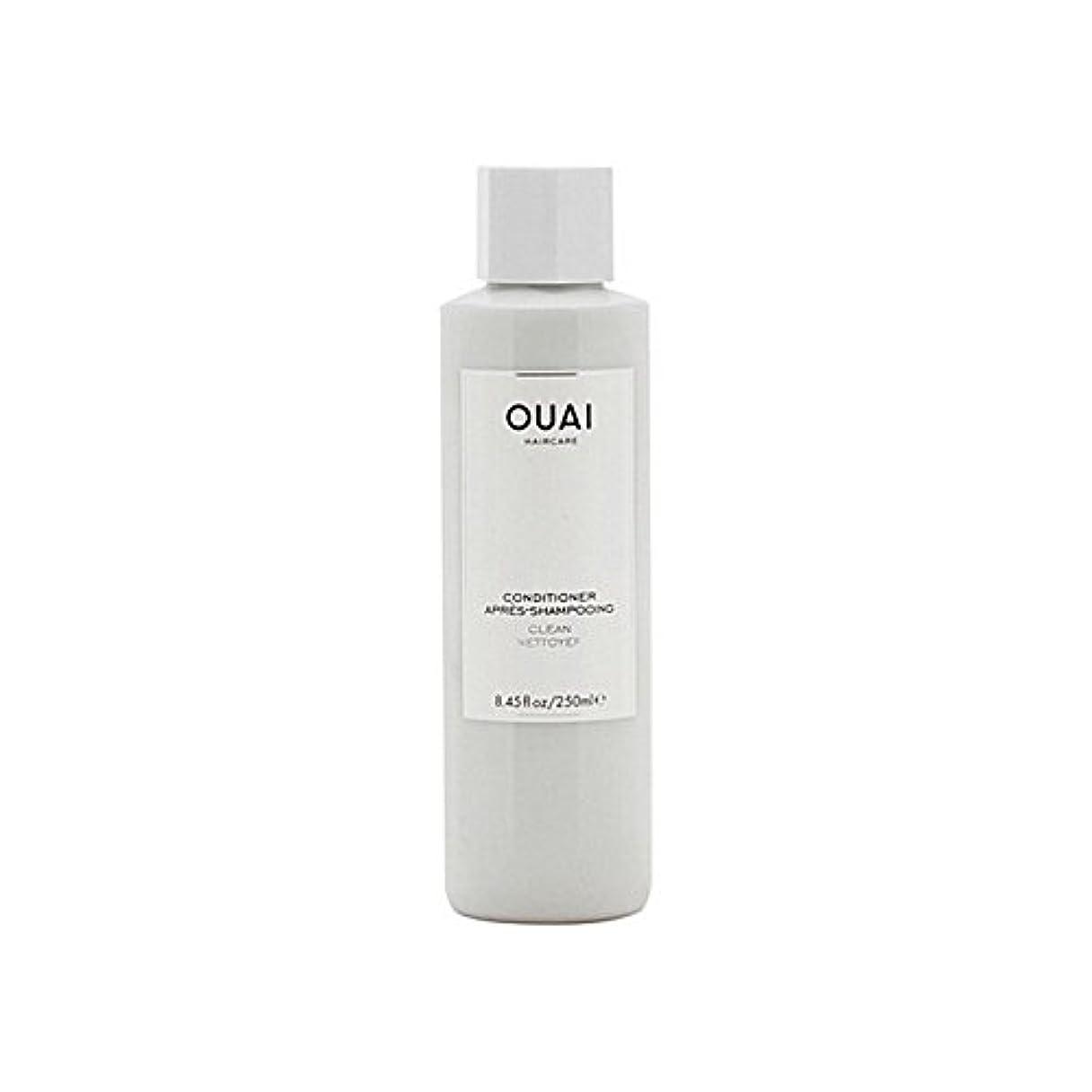 伝導ケージ協同Ouai Clean Conditioner 300ml - クリーンコンディショナー300ミリリットル [並行輸入品]