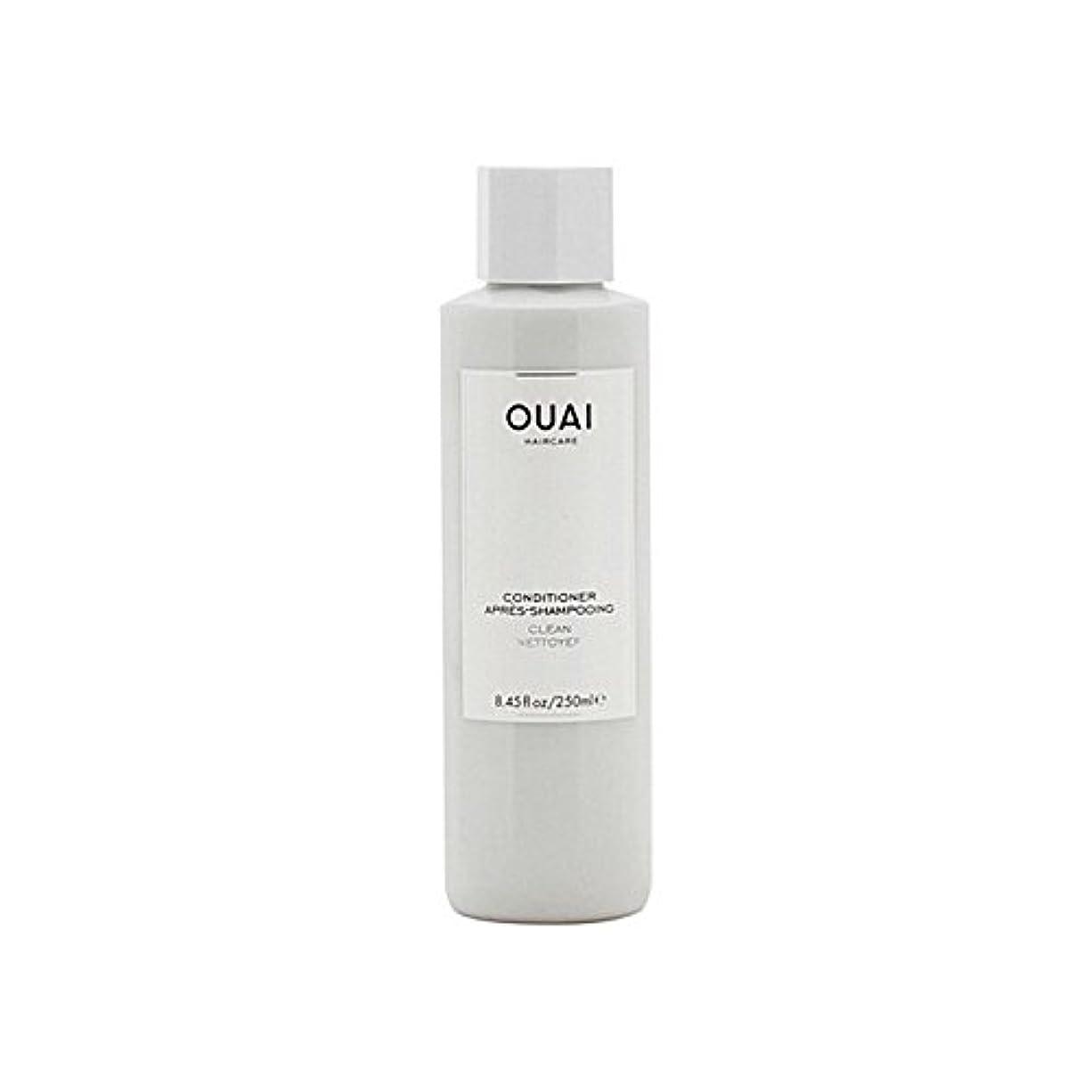 ポルティコ糸アメリカOuai Clean Conditioner 300ml (Pack of 6) - クリーンコンディショナー300ミリリットル x6 [並行輸入品]