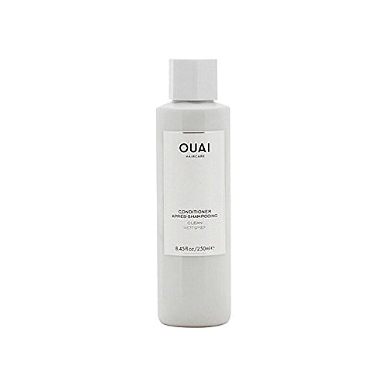 露骨な灰熟読するクリーンコンディショナー300ミリリットル x4 - Ouai Clean Conditioner 300ml (Pack of 4) [並行輸入品]