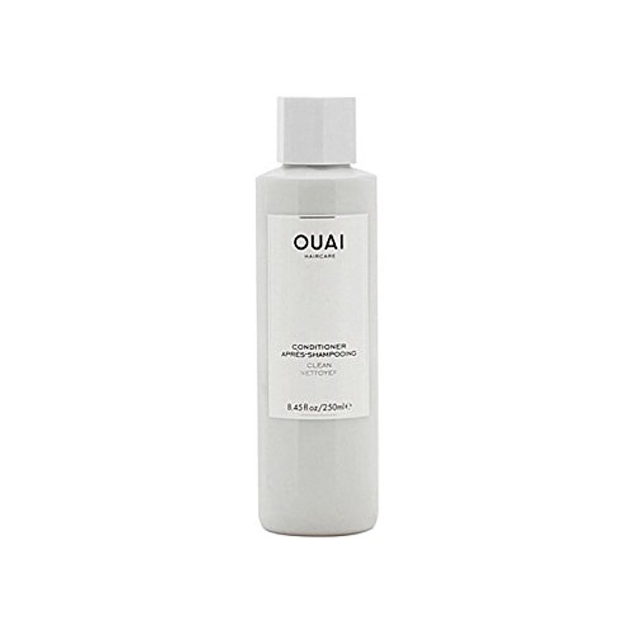 収容する優雅ワイドOuai Clean Conditioner 300ml - クリーンコンディショナー300ミリリットル [並行輸入品]