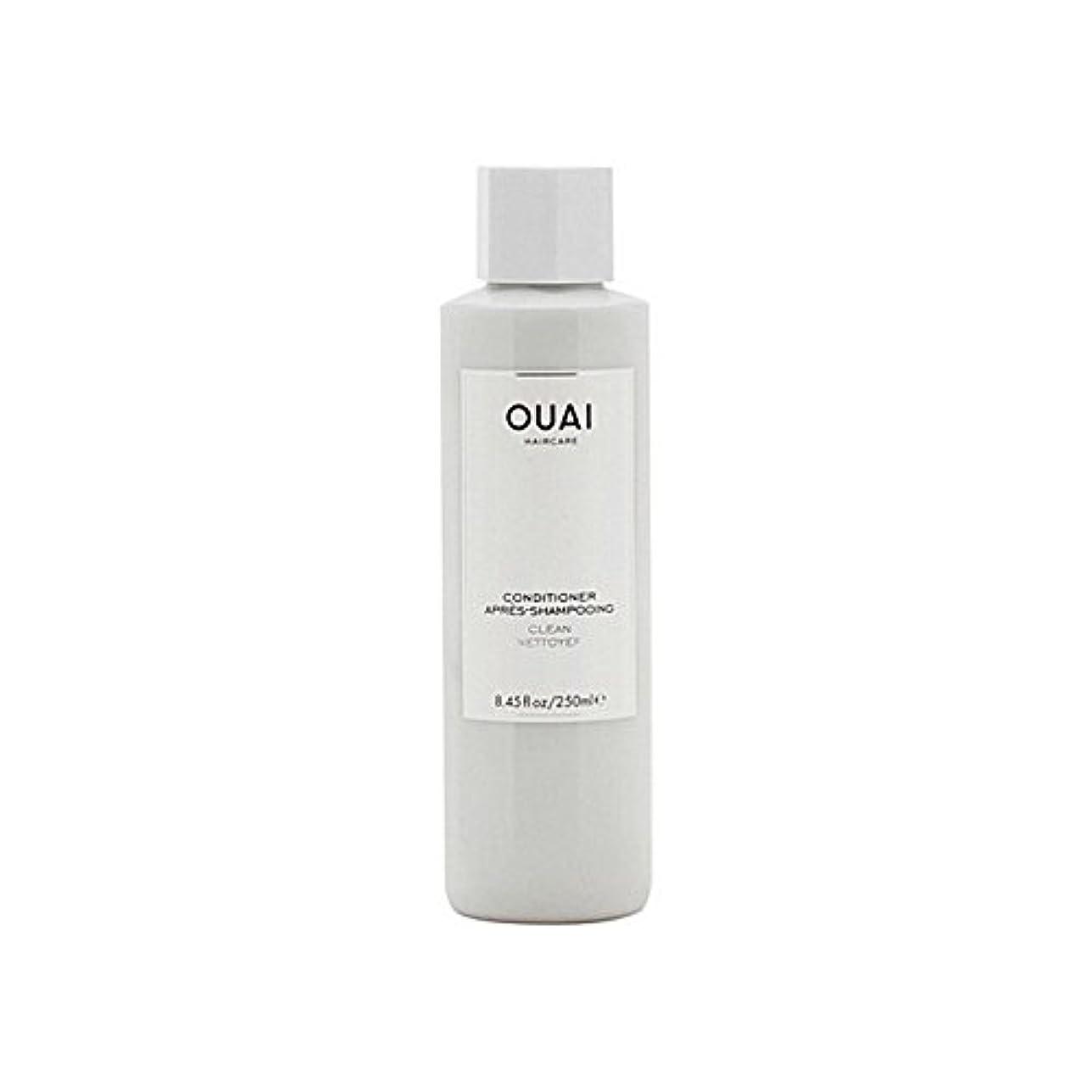 学期有害なの中でOuai Clean Conditioner 300ml (Pack of 6) - クリーンコンディショナー300ミリリットル x6 [並行輸入品]