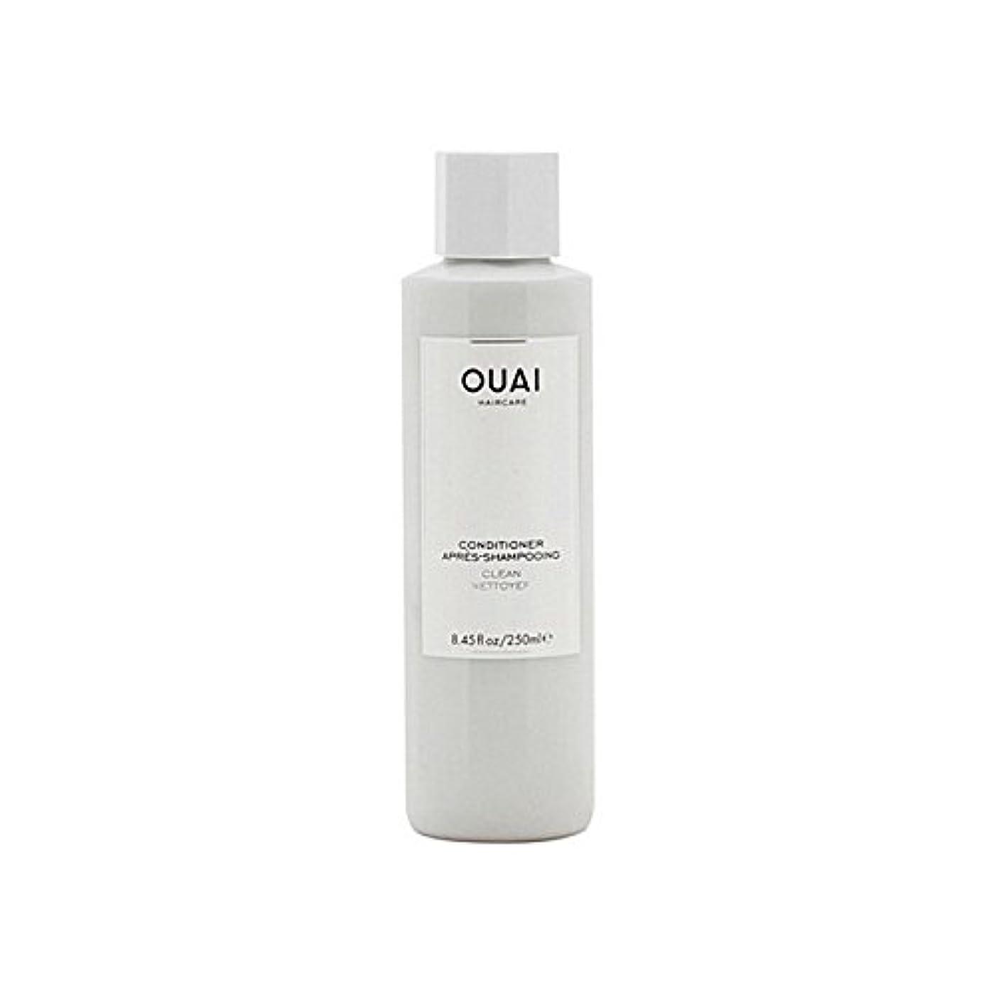 水っぽいほめるサラダOuai Clean Conditioner 300ml (Pack of 6) - クリーンコンディショナー300ミリリットル x6 [並行輸入品]