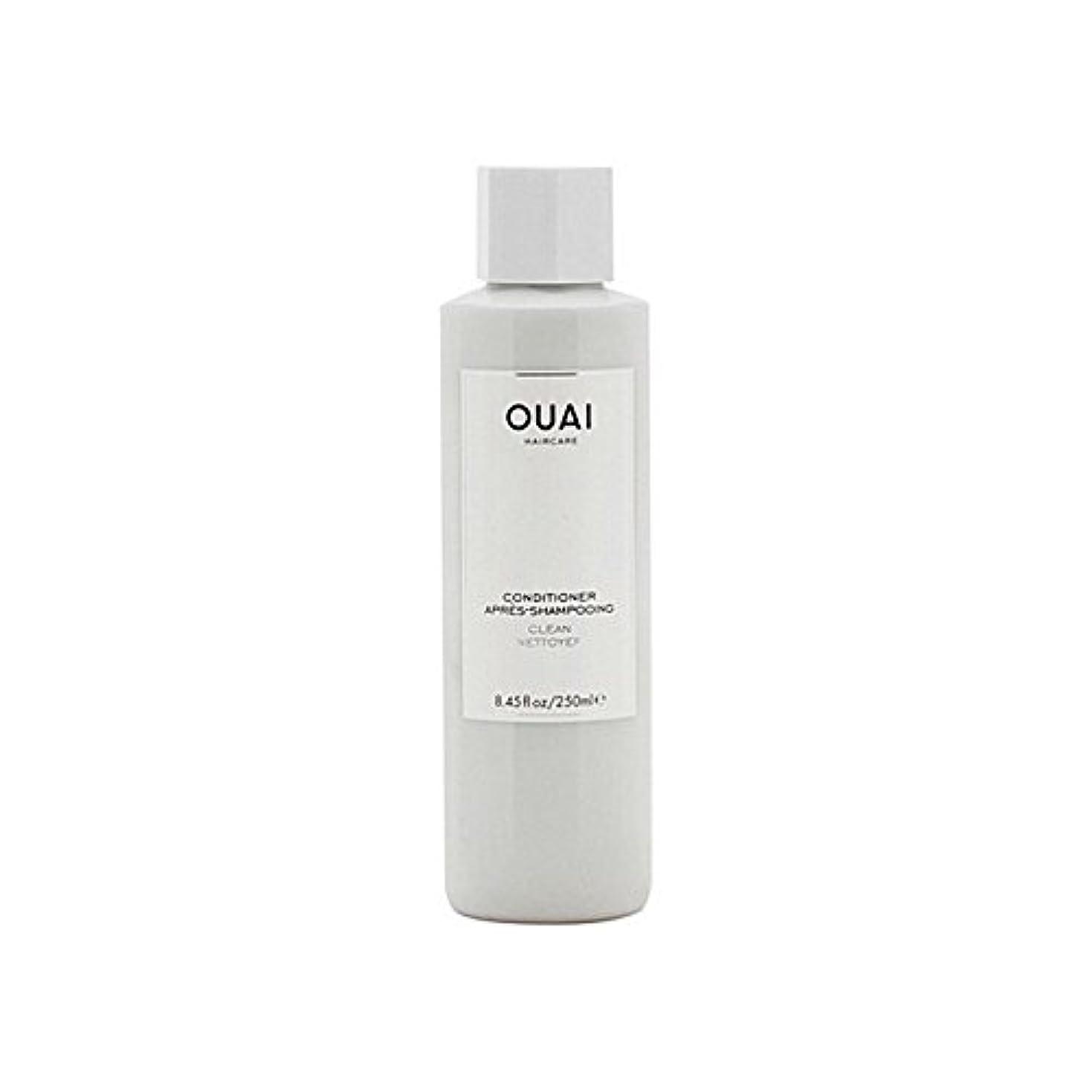 神聖どこか言語Ouai Clean Conditioner 300ml - クリーンコンディショナー300ミリリットル [並行輸入品]