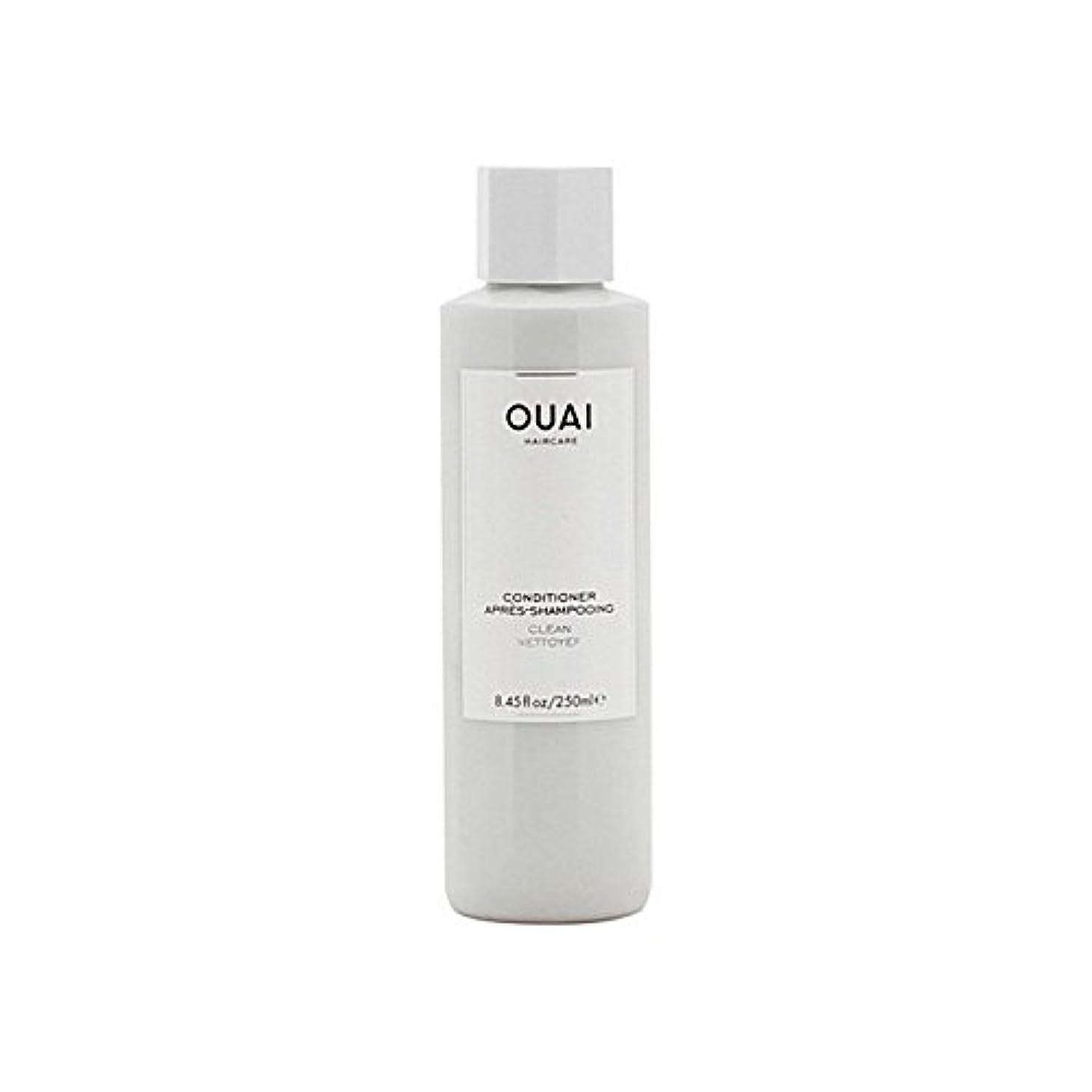 方法論知覚できる乳白Ouai Clean Conditioner 300ml (Pack of 6) - クリーンコンディショナー300ミリリットル x6 [並行輸入品]
