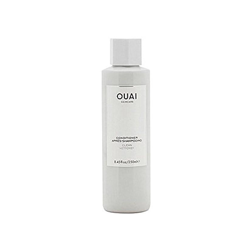 ヨーロッパガジュマル将来のOuai Clean Conditioner 300ml - クリーンコンディショナー300ミリリットル [並行輸入品]