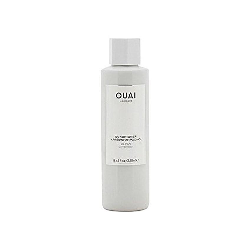 Ouai Clean Conditioner 300ml (Pack of 6) - クリーンコンディショナー300ミリリットル x6 [並行輸入品]