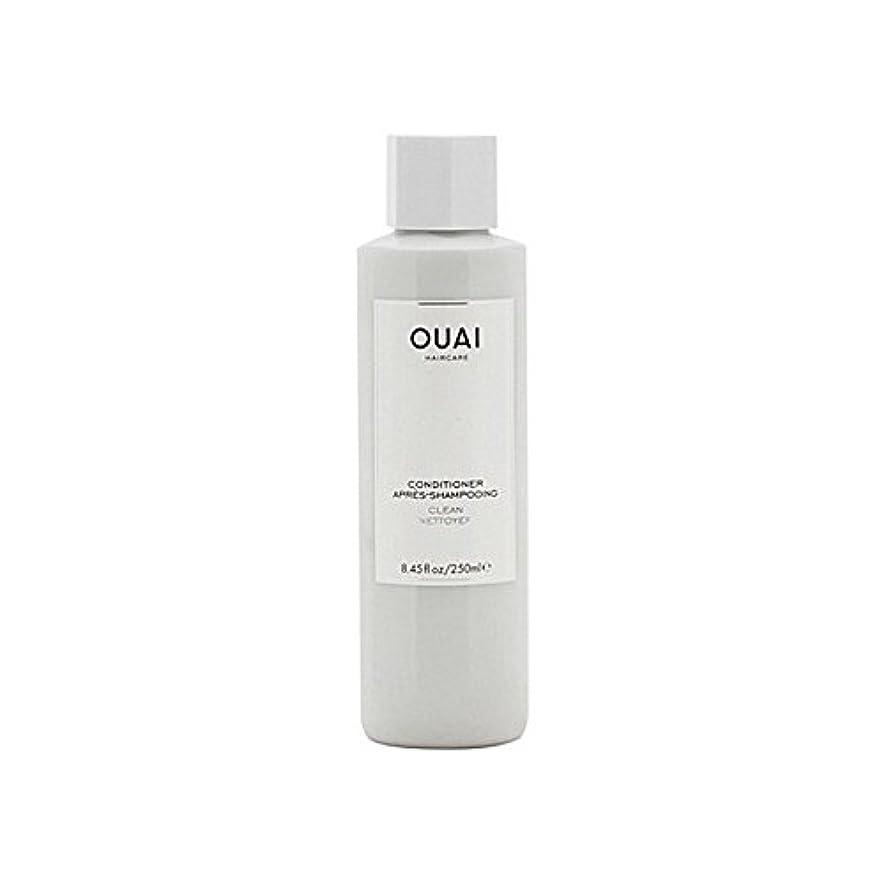 チーター文明化する変えるOuai Clean Conditioner 300ml - クリーンコンディショナー300ミリリットル [並行輸入品]