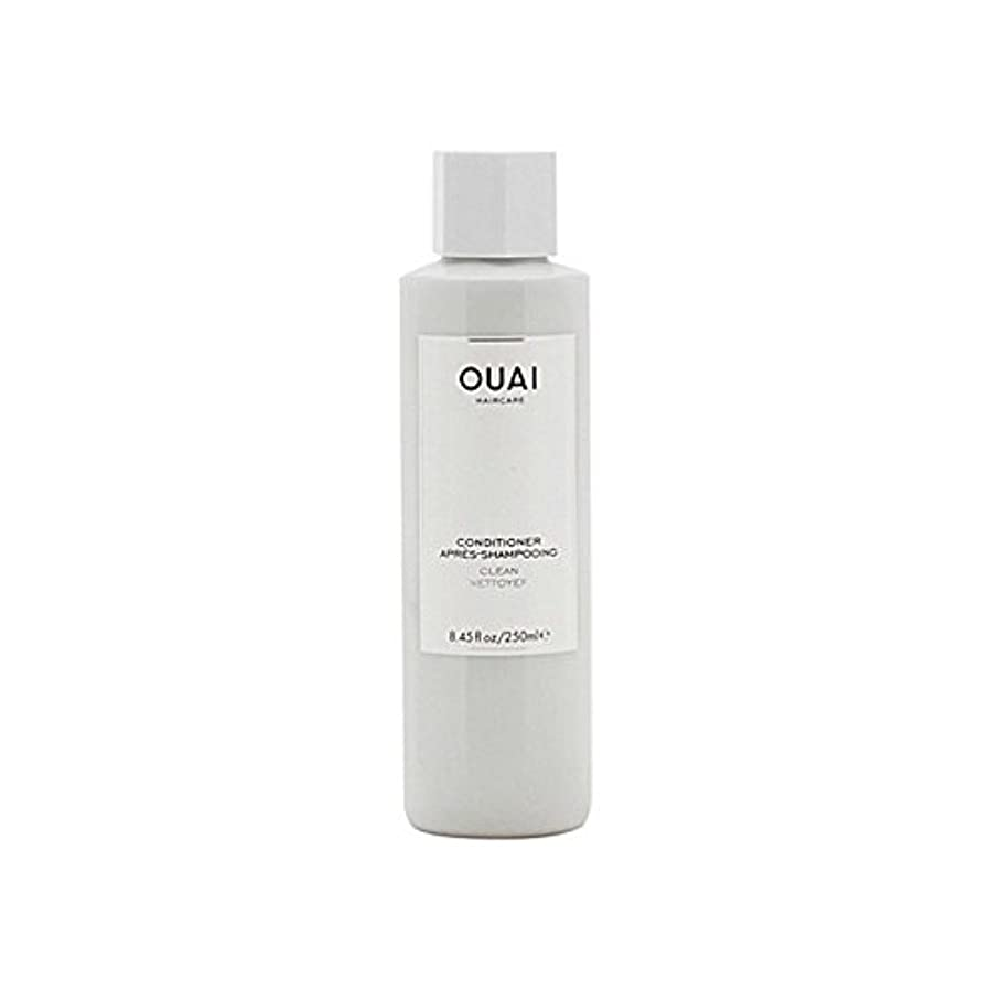探検習字酒Ouai Clean Conditioner 300ml - クリーンコンディショナー300ミリリットル [並行輸入品]