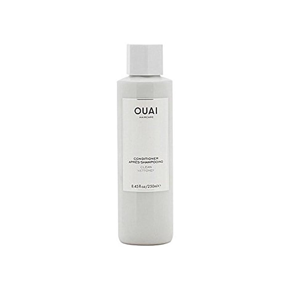 常識地殻変更Ouai Clean Conditioner 300ml (Pack of 6) - クリーンコンディショナー300ミリリットル x6 [並行輸入品]