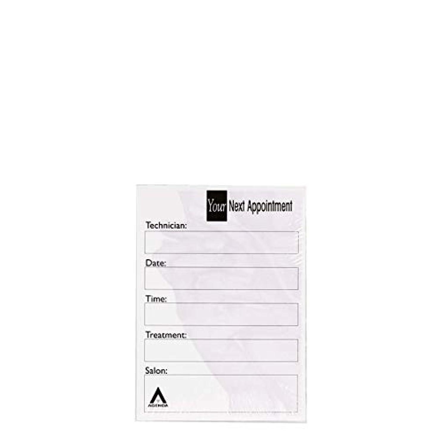 化学薬品拡張人アジェンダ サロンコンセプト ネイルアポイントメントカードAP8N x100[海外直送品] [並行輸入品]