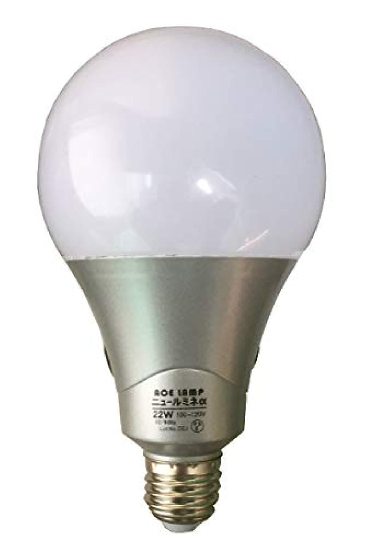 WING ACE LED電球付クリップランプニュールミネα?22W(替球) LED-L22A