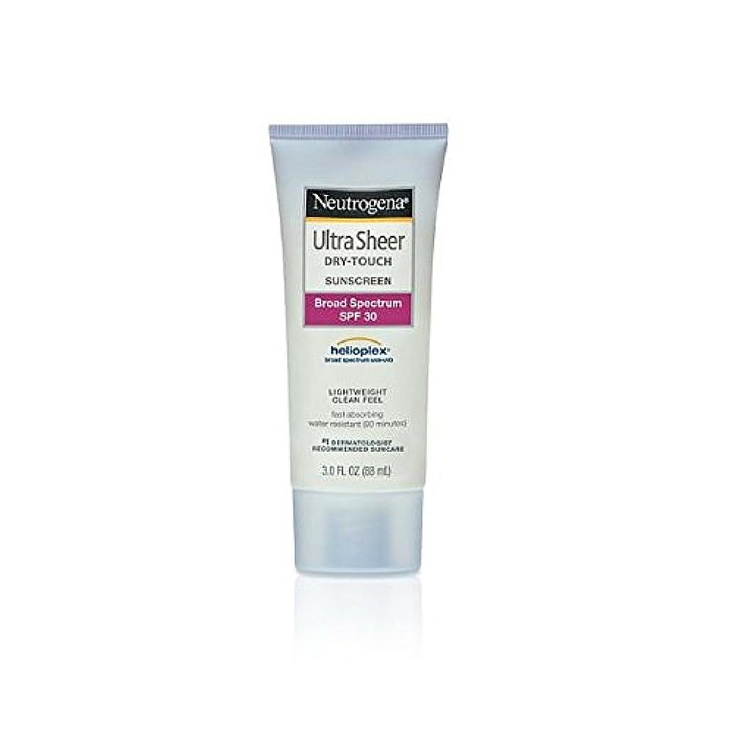 事前に呼吸メンタルNeutrogena Ultra Sheer Sunblock Dry Touch SPF 30 (並行輸入品)